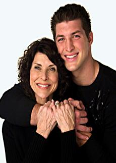 Pam and TimTebow
